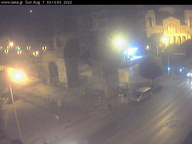 Thessaloniki webcam - Thessaloniki Galerieus Arch webcam, Macedonia, Thessaloniki