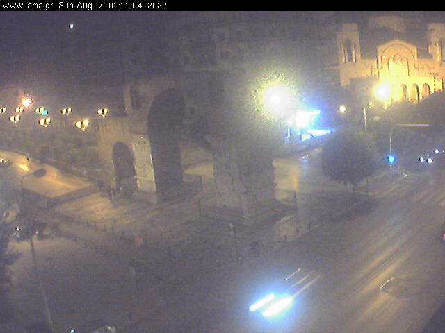 Webcam For The Port Of Thessaloniki