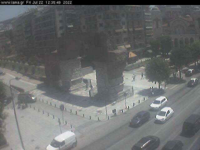 Live Report from the center of Thessaloniki -   Yanis Syllignakis meteo station